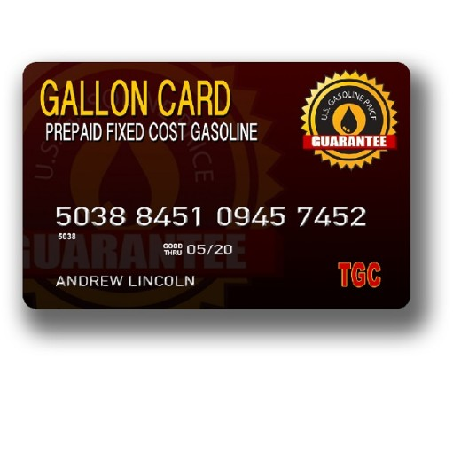 The Gallon Card